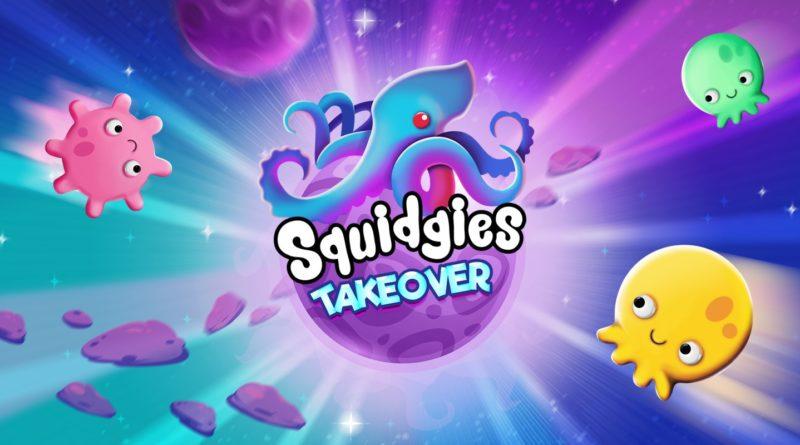 Squidgies Takeover Indiespensáveis Capa